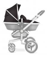 MOTHERCARE vežimėlio medžiaginės dalies rankinys Silver Cross Black/silver GC988 876039