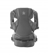 STOKKE nešioklė front/back My Carrier Grey Mesh 431611 431611
