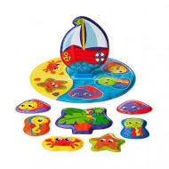 PLAYGRO bath puzzle Floaty Boat, 0186379 0186379