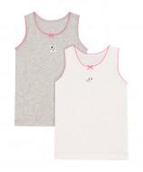 MOTHERCARE apatiniai marškinėliai merg. 2vnt. TD279 337041