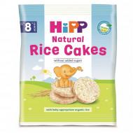 HiPP ryžių paplotėliai 8m+ 35g 3565 3565