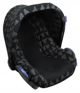 DOOKY seat cover Black Tribal 126822 126822