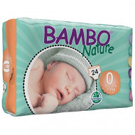 BAMBO sauskelnės Premature 1-3kg 24vnt. 43100