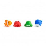 MUNCHKIN vonios žaisliukai 4 vnt. 9m+ Ocean 01110301 01110301