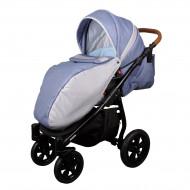 MILLI Tech vežimėlis 3in1 Dark blue/grey 713928 713928