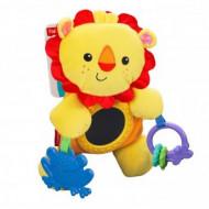 FISHER PRICE pliušinis liūtukas (ant vežimėlio), BBT68 BBT68