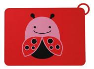 SKIP HOP silikoninis padėkliukas Zoo Fold & Go Ladybug 252053