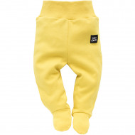 PINOKIO Trousers with feet Funny Dog yellow 1-1-135-150H-062ZO 1-1-135-150H-062ZO