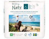 Eco by NATY sauskelnės - kelnaitės 6 XL dydis, 18vnt 244114