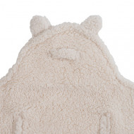 JOLLEIN Įvyniojamas pledukas Teddy Bear off-white 032-566-65092