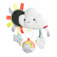 SKIP HOP Silver Lining Cloud Stroller Bar Toy-Cloud, 307166 307166