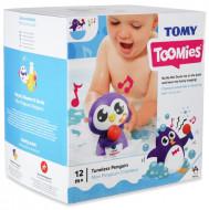 TOMY muzikinis vonios žaislas Tuneless Penguin, E72724C