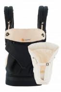 ERGOBABY nešioklė su įdėklu naujagimiui 360 Black/Camel BCII360ABKCM BCII360ABKCM