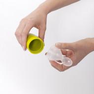 BOON silikoninis maitinimo šaukštelis 89 ml 4m+ Squirt Green B10123