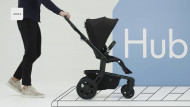 JOOLZ vežimėlis su sportine dalimi Hub Studio Nero 900010 900010