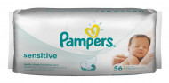 PAMPERS servetėlės Sensitive 56vnt P05U991 P05U941