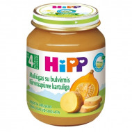 HiPP vegetable puree pumpkin with potatoes 125g 4m+ 4043 4043