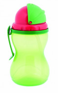 CANPOL BABIES canteen with straw, 370ml green, 56/113_gre 56/113_gre