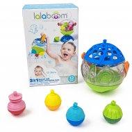 LALABOOM vonios kamuolys ir edukaciniai karoliukai, 8 dalys, BL510 BL510