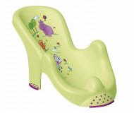 "KEEEPER  gultas į vonelę Anatomic    ""Hippo"" lime 8619"