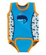 MOTHERCARE maudymosi kostiumėlis be rankovių, 12-24 mėn, mėlynas, 916733 916751