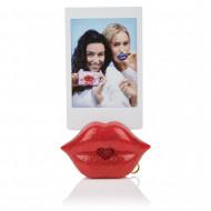 S.W.A.K. raktų pakabukas su garsu Red Glitter Kiss, 4115 4115