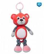 CANPOL BABIES pakabinamas muzikinis žaislas Bears Coral 68/053_cor 68/053_cor