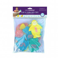CLEVAMAMA toys for bath with bag 3507 3507