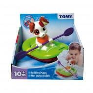 TOMY vonios žaislas Irkluotojas šuniukas, E72424