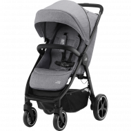 BRITAX vežimėlis B-AGILE R ELEPHANT GREY/BLACK 2000032872 2000032872