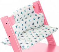 STOKKE maitinimo kėdutės paminkštinimas Trip Trap Aqua Star (coated) 100326 100326