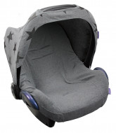 DOOKY seat cover Dark Grey Melange 126811 126811