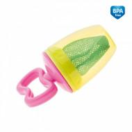 CANPOL BABIES šviežio maisto maitintuvas 56/105 (pink-green) 56/105_pin