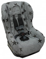 DOOKY seat cover Grey Stars 126826 126826