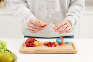 BOON silikoninis maitintuvas 6m+ Orange B11177