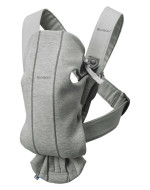 BABYBJÖRN nešioklė Mini, Light Grey, 3D Jersey 021072