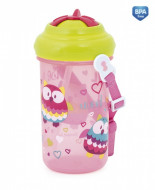 CANPOL BABIES canteen with straw transparent Happy Vehicles, 4/102 4/102