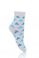 STEVEN Socks triangles grey 147-001 26-28 147-001