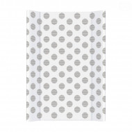 CEBA changing mat 50x80 Day & Nights Polka Dots W-210-094-523