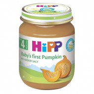 HiPP vegetable puree pumpkin 125g 4m+ 4063 4063