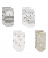 MOTHERCARE socks 4 pack 6-12months 809600 809600