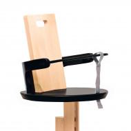 FROC saugos diržas maitinimo kėdutei Black S8