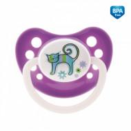 CANPOL BABIES čiulptukas lateksinis ortodontinis Zoo 18m+ 23/452 23/452
