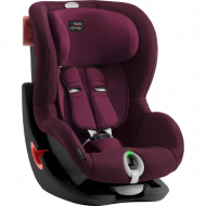 BRITAX automobilinė kėdutė KING II LS BLACK SERIES Burgundy Red ZR SB 2000030804 2000030804