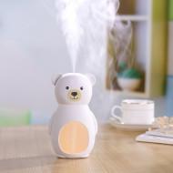 MiniMu vaikiškas oro drėkintuvas ir naktinė lemputė Meškutis, MMMHDB0001 MMMHDB0001