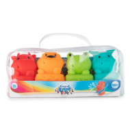 CANPOL BABIES vonios žaislų rinkinys su purkštuku Animals, 4 vnt., 79/400 79/400