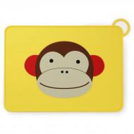 SKIP HOP silikoninis padėkliukas Zoo Fold & Go Monkey 252051