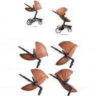 MIMA vežimėlio Xari lopšys ir sportinė sėdynė Sicilian Red AS112200 AS112200