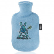 FASHY HWB with fleece cover with embroidered motifs col. light blue 0,8l 6505 650502