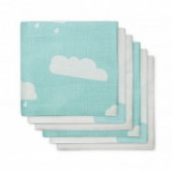 JOLLEIN Hydrophilic face cloth Clouds jade (3pack) 537-848-65055
